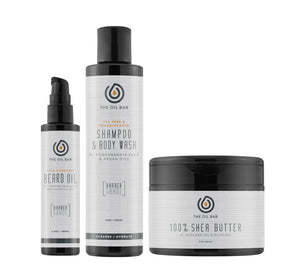 3-PC Men's Body Care Kit