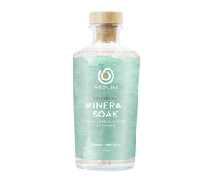 Dead Sea Salt Mineral Soak