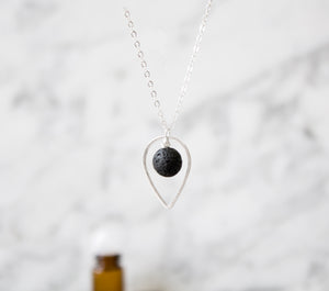 Diffuser Necklace: Drop Pendant