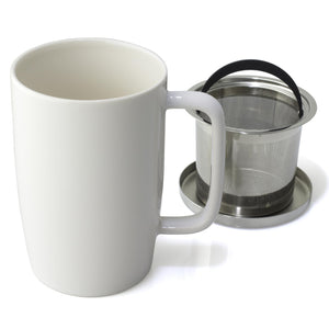Dew Brew-in-Mug w/ infuser & lid 18 oz