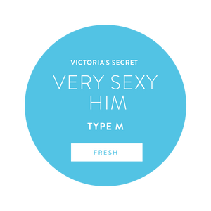 Victoria's Secret Very Sexy Him Type M