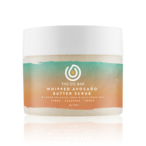 Whipped Avocado Butter Scrub infused with CBD Oil