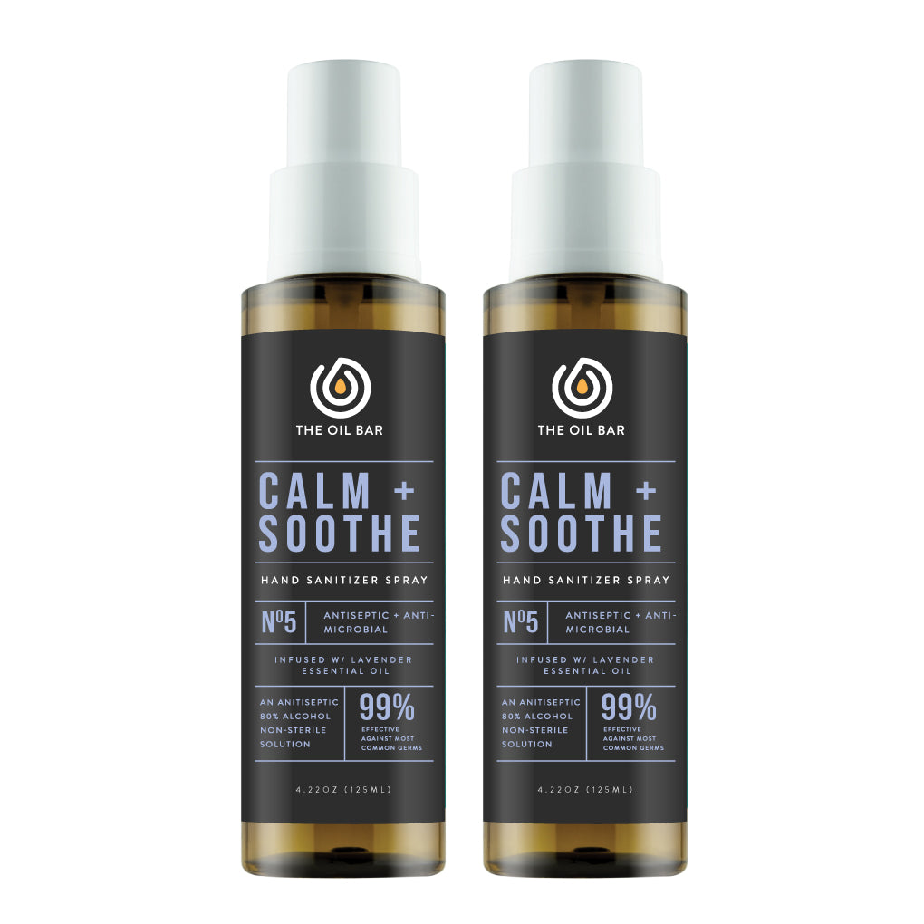 Calm + Soothe Hand Sanitizer Spray (2 pack)