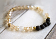 Diffuser Bracelet: Clear Crystal
