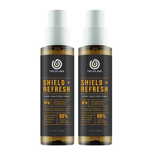 Shield + Refresh Hand Sanitizer Spray (2 pack)