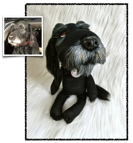 Labradoodle Stuffed Animal Plush