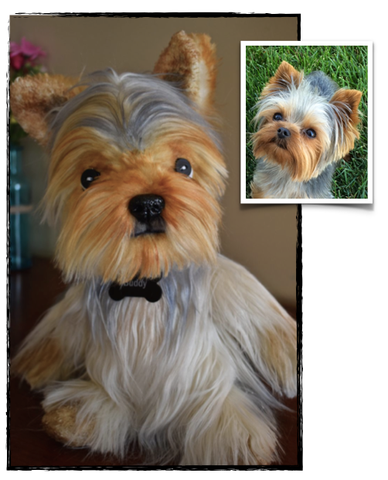Yorkie Yorkshire Terrier Stuffed Animal Plush Dog
