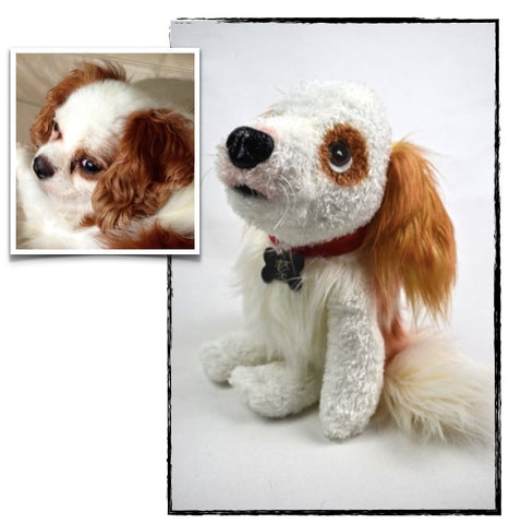 Cavalier King Charles Stuffed Animal Plush