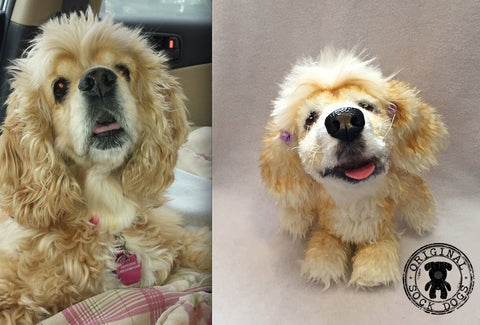 Cocker Spaniel Stuffed Animal Plush