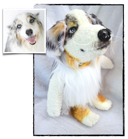 Australian Shepherd Stuffed Animal Plush