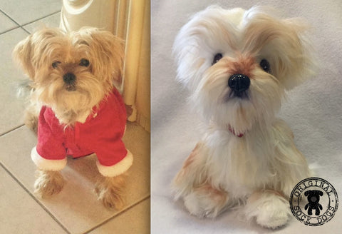 Maltese Stuffed Animal Plush