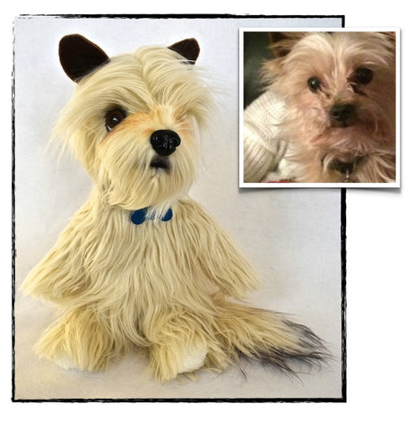Cairn Terrier Stuffed Animal Plush