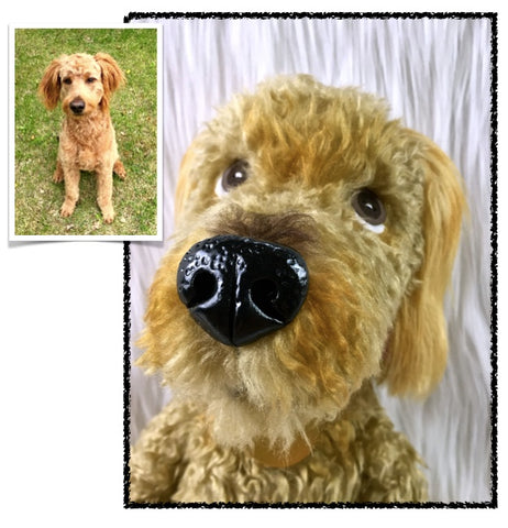 Goldendoodle Stuffed Animal Plush