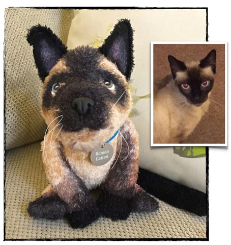 Siamese Cat Stuffed Animal Plush