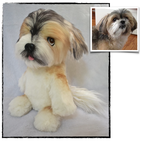 Shih Tzu Stuffed Animal Plush Dog