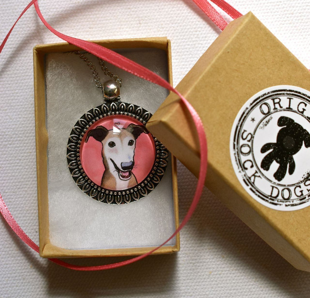 Custom Jewelry - Custom Pet Portrait Pendant