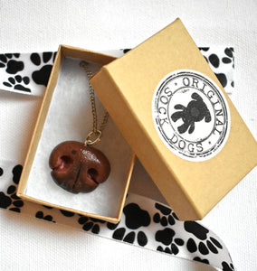 Custom Jewelry - Custom Sculpted Pet Nose Pendant
