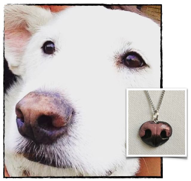 Custom Dog Nose Pendant