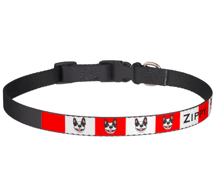 Dog Collars - Custom Portrait Dog Collar