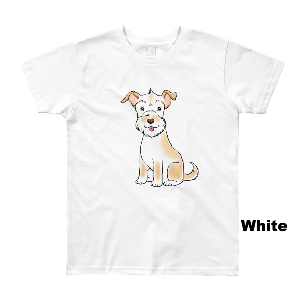 Kids T-Shirts - Custom Pet Portrait Kids' Short Sleeve T-Shirt