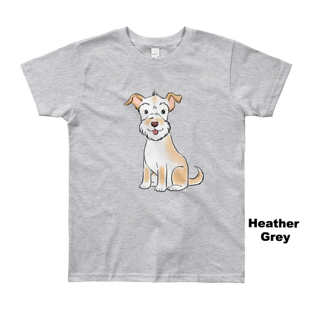fbbc1713 Kids T-Shirts - Custom Pet Portrait Kids' Short Sleeve T-Shirt