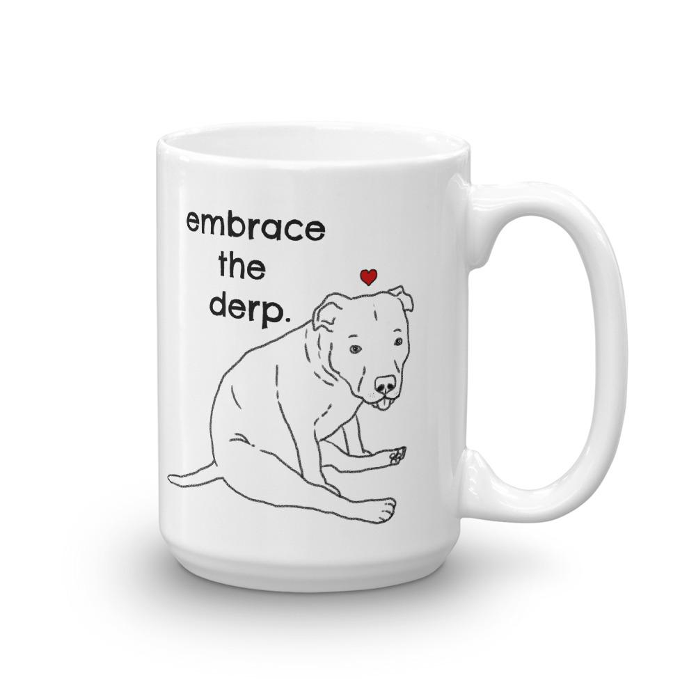 Mugs - Derpy Dog Pitbull Mug