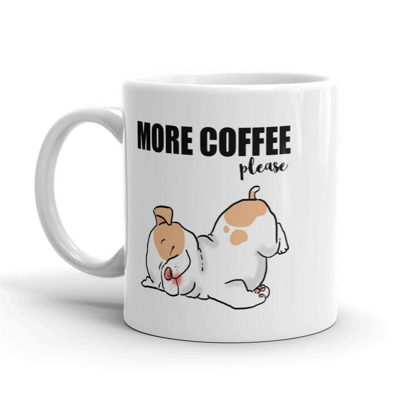 More Coffee Please, Sleepy Puppy Mug