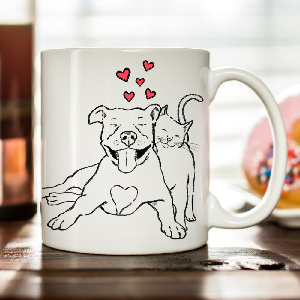 Mugs - Pitties & Kitties Mug