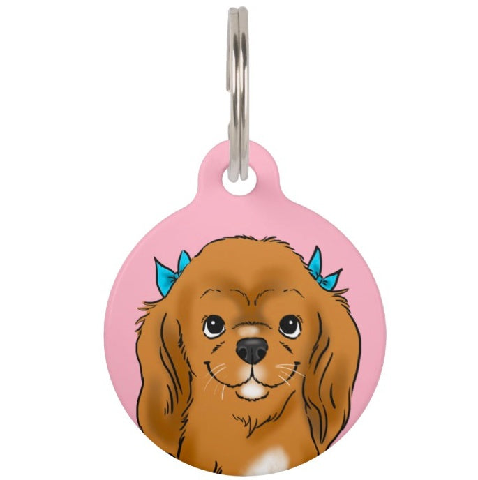 Custom Portrait Pet Tag