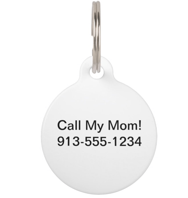 Pet Tags - Custom Portrait Pet Tag