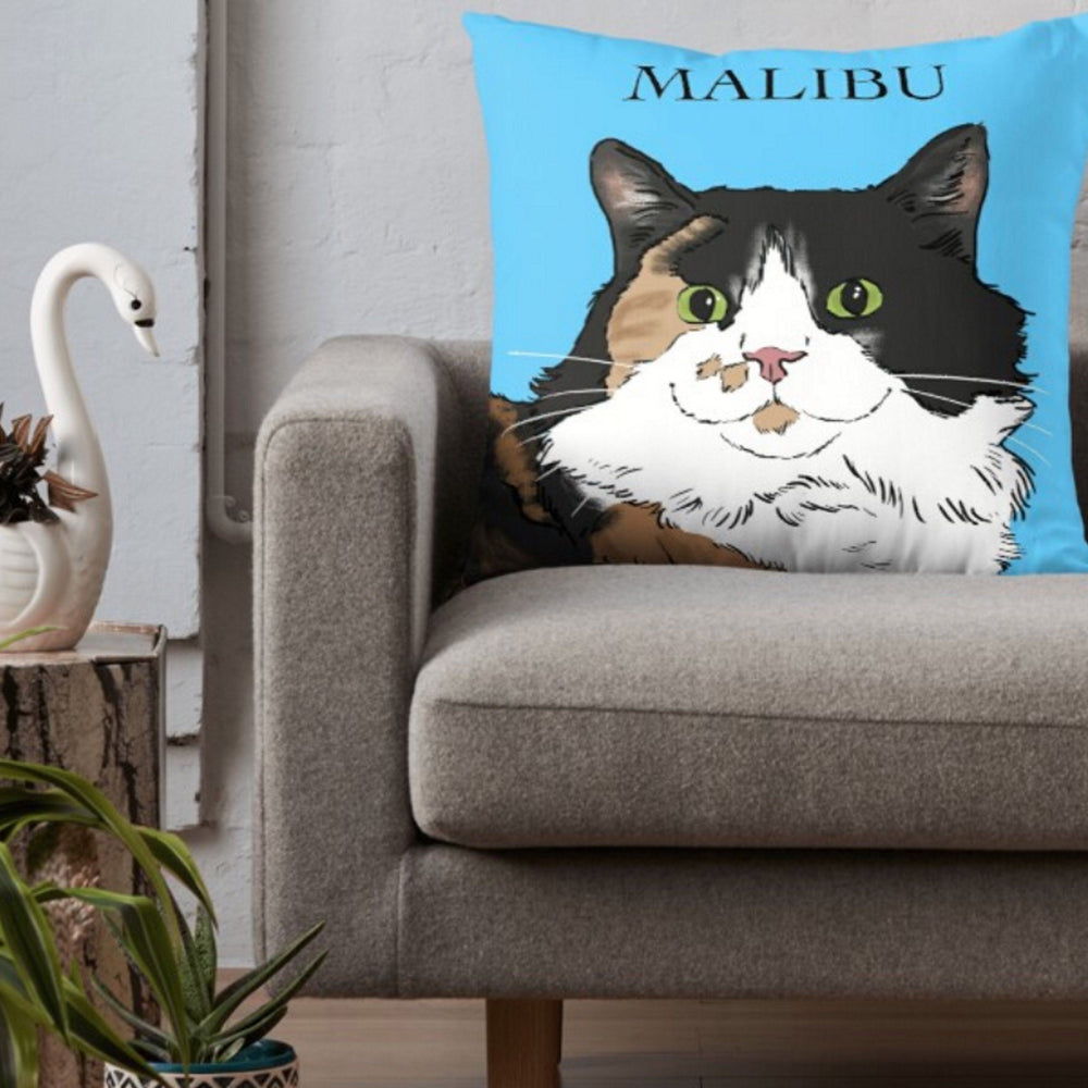 Pillows - Custom Pet Portrait Pillow 18x18