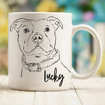 Custom Pet Sketch Mug