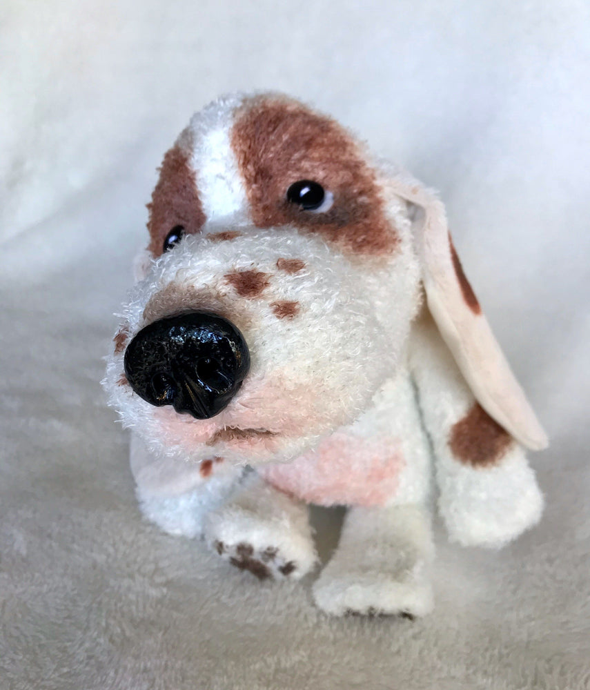 "Plush - Basset Hound Puppy ""Chesapeake"""