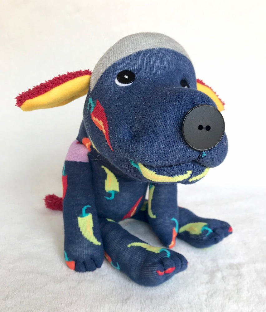 "Plush - Sock Mutt ""Chili"""