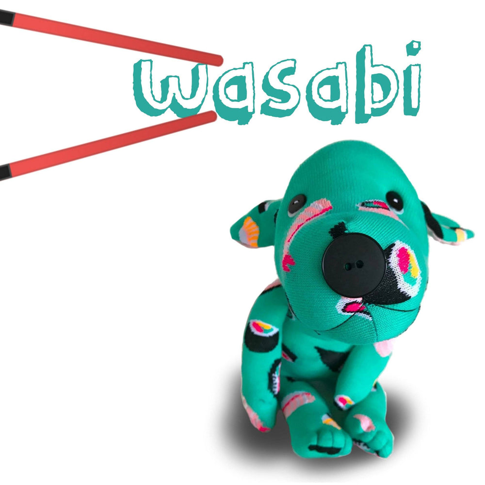 "Plush - Summer Mutt--""Wasabi"""