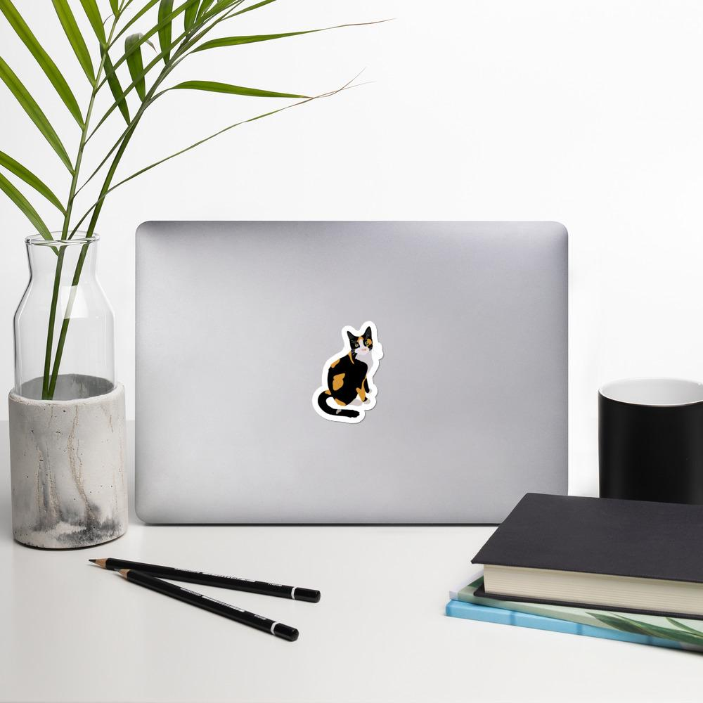Stickers - Calico Cat Vinyl Sticker