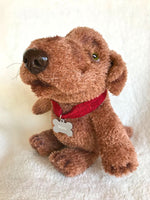 Stuffed Animals - Chocolate Lab Puppy, Original Sock Puppy