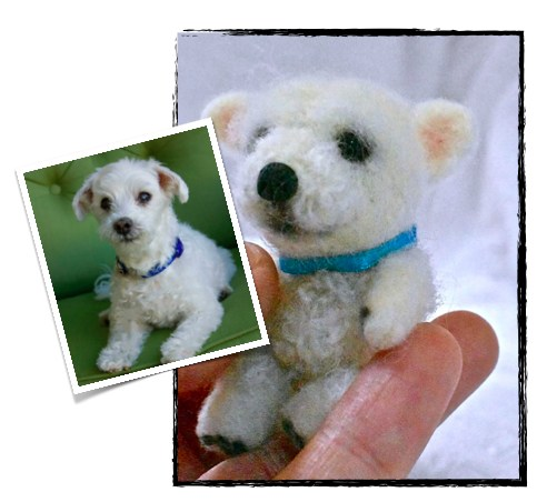 Stuffed Animal of Your Pet - Custom Mini Stuffed Animal Replica—Palm-Sized Pet