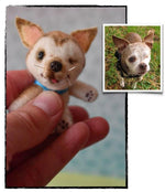 Stuffed Animal of My Pet - Custom Mini Stuffed Animal Replica—Palm-Sized Pet