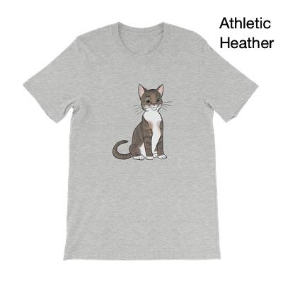 T-Shirts - Custom Pet Portrait Adult T-Shirt