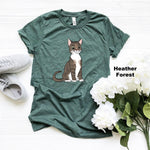 T-Shirts - Custom Pet Portrait T-Shirt, Adult Men's/Women's