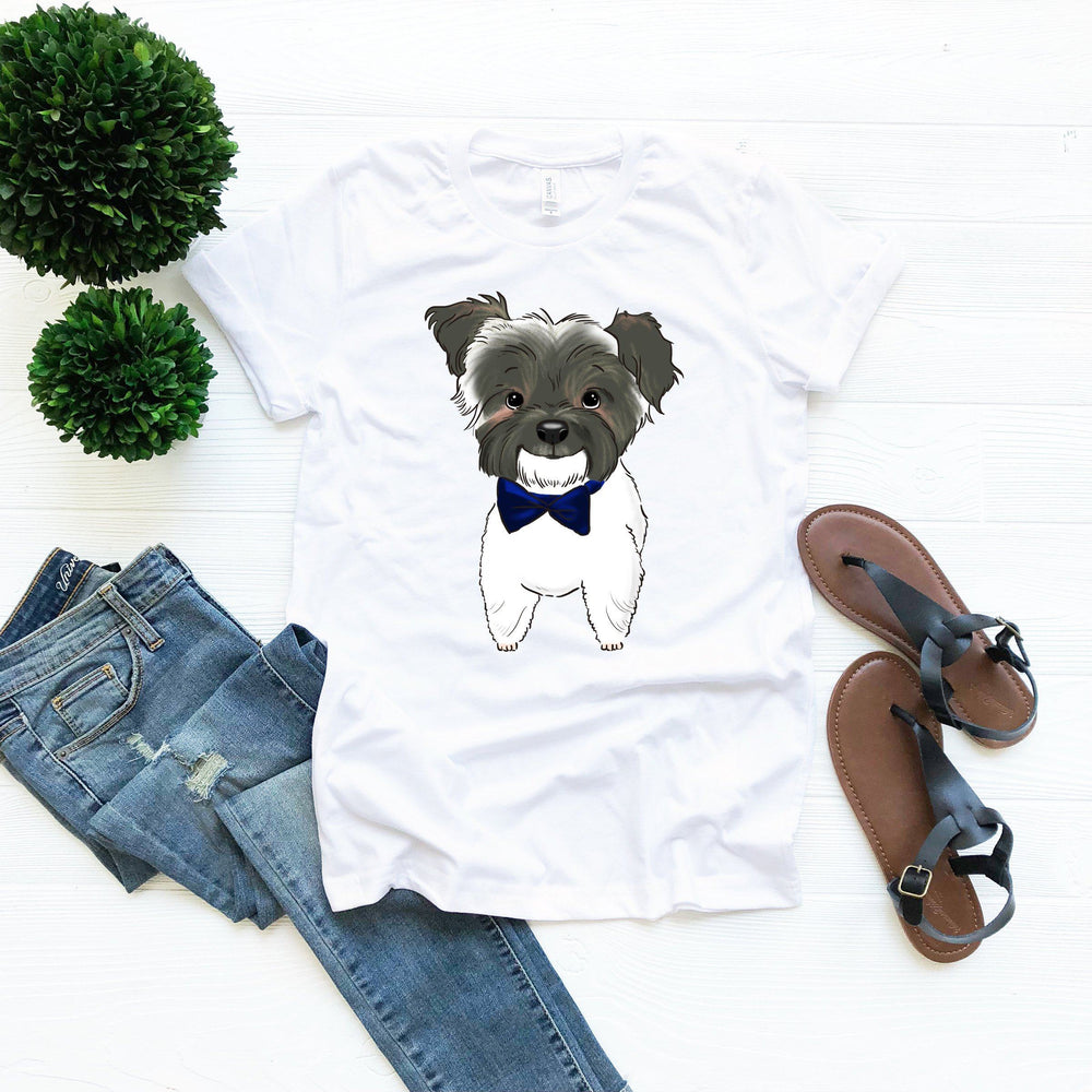 Custom Pet Portrait Adult T-Shirt