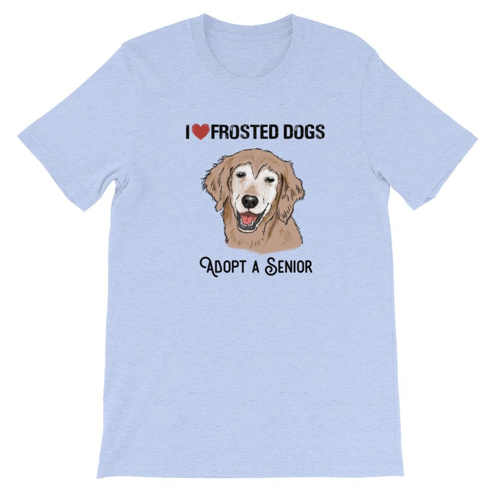 T-Shirts - I Love Frosted Dogs; Adopt A Senior T-Shirt