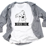 Illustrated Boxer Dad T-Shirt