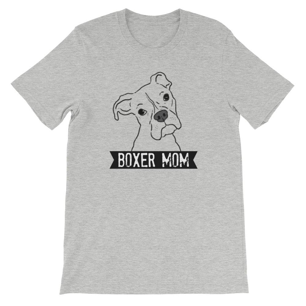 T-Shirts - Illustrated Boxer Mom T-Shirt
