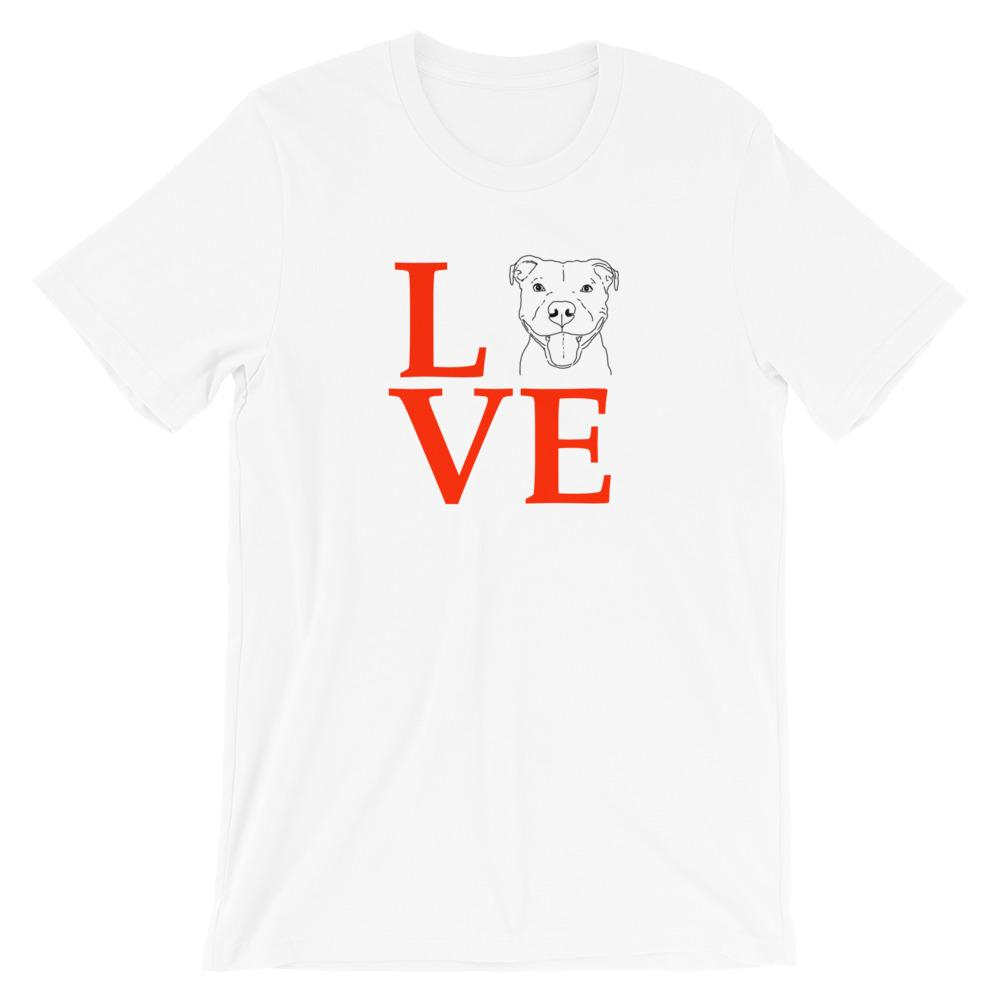 T-Shirts - LOVE Rescue Dog Unisex T-Shirt