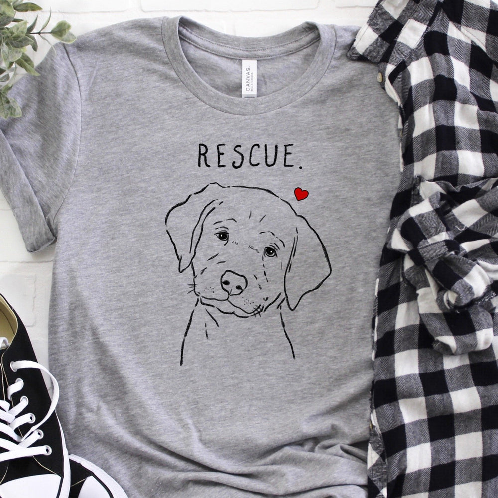Rescue Love Lab Puppy T-shirt