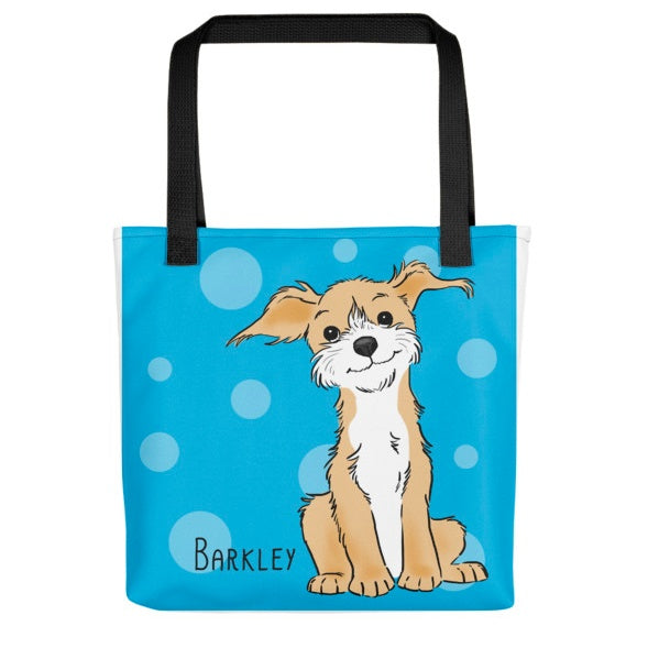 Custom Pet Portrait Tote Bag
