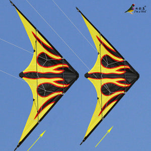 Flame Style Dual Line Stunt Kite 1.6M (5.25 Ft)
