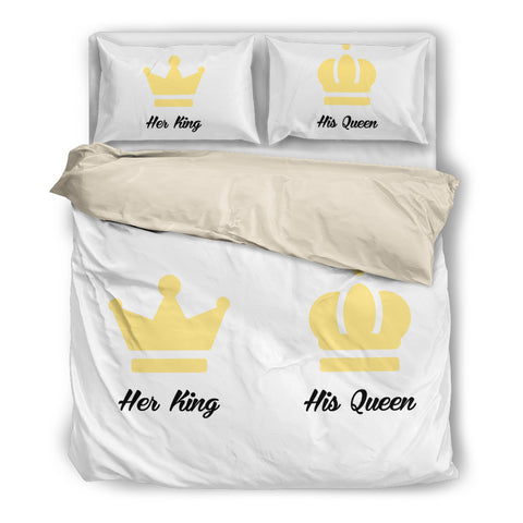 Her King His Queen Bedding Set